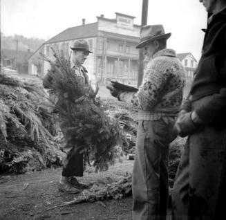 """Christmas Tree Operation Ladysmith."" [1940]. Image NA-07239/RBCM&A"