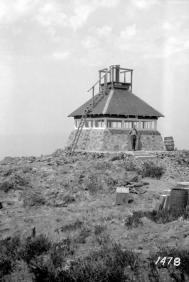 "BC Archives. Item NA-05073. ""Forest Service Phoenix Mountain lookout."""