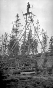 "BC Archives. Item NA-05724. ""Forest Service Priestly Hill lookout."""