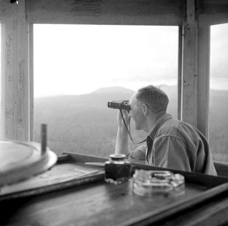 "BC Archives. Item NA-07306. ""Forest Service Little Mountain lookout."""