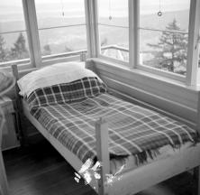 "BC Archives. ""Item NA-08999. Forest Service Mount Bruce lookout interior."""